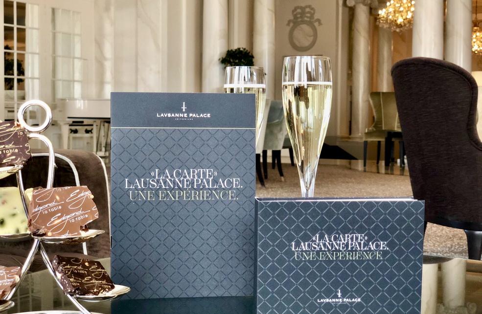 Calendar La Carte Lausanne Palace